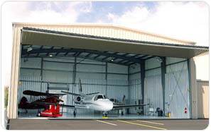 Steel Buildings for Aircraft Hangars