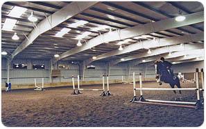 steel Building Horse Arena