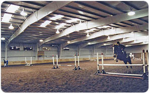 Metal Building Horse Arena
