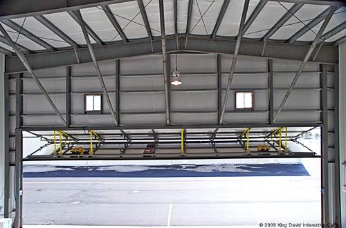 hangar-door