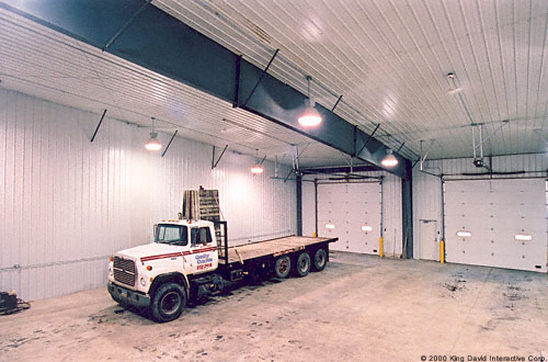 Prefab Truck Garage Steel Buildings