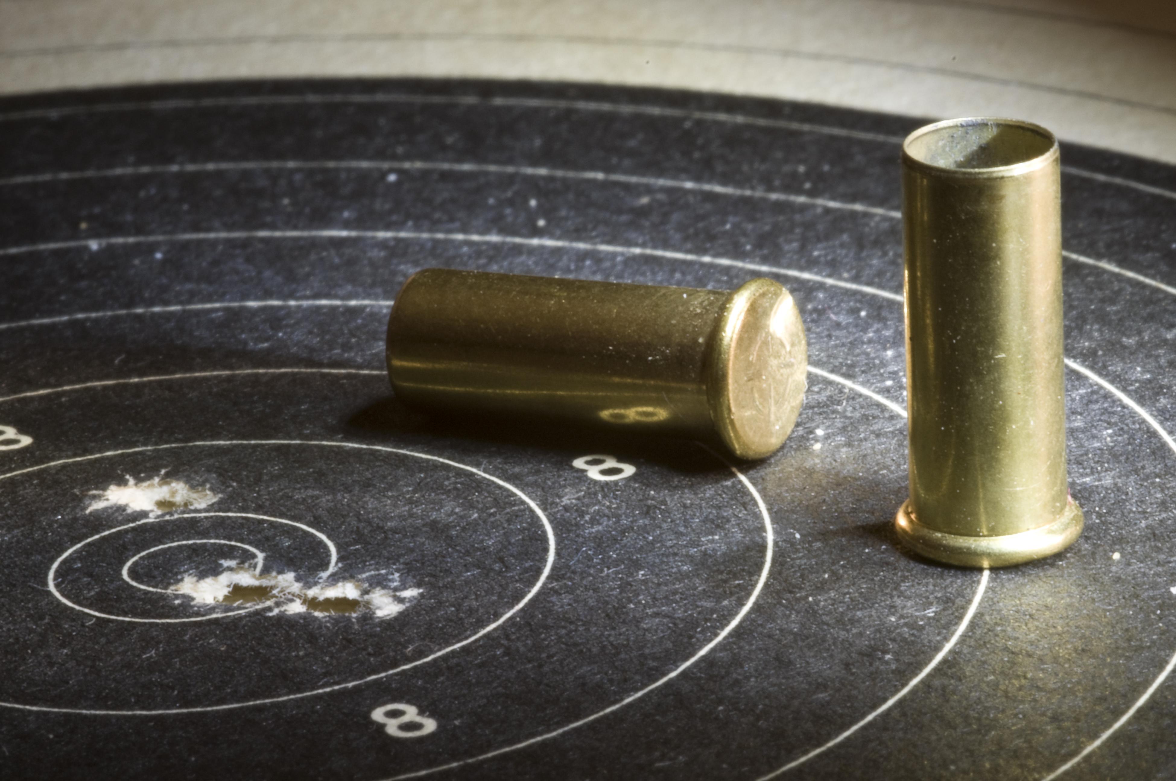 setting up a gun range