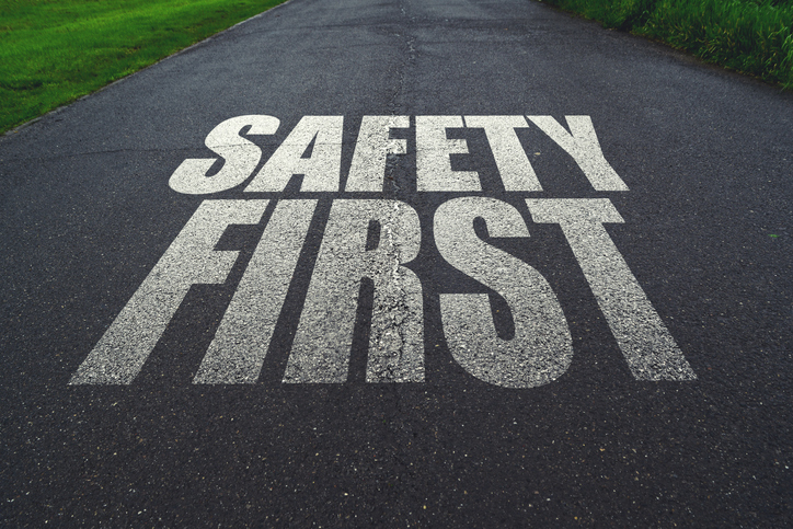 safety first words