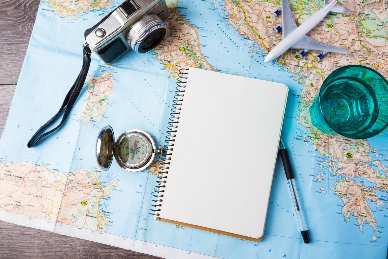 passport and camera