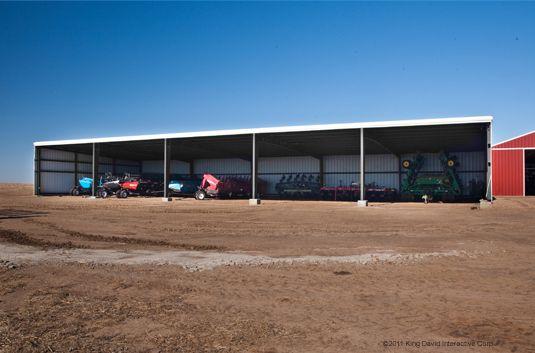 Metal Canopy Buildings - Olympia Steel Buildings